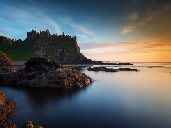 3L Calm Evening at Dunluce by Ossie Bruce