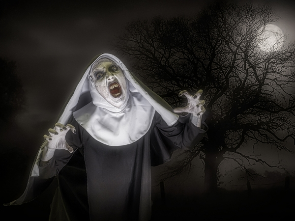 3P The Nun by Steve Haydon
